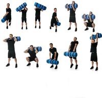 Fitness PVC fold water bag GYM dump sport water bag Exercise dumbbell exercise Gymnastic fitness PVC lifting weights dumbbell