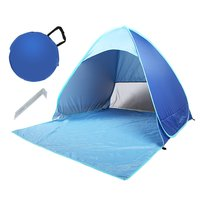 Sunshine Beach Tent outdoor Tent Ultralight Folding waterproof Pop Up Automatic Open Tourist Fish Camping UV-protective Sun Shad