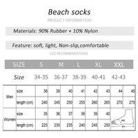Beach socks diving socks unisex swimming shoes surfing shoe non slip for summer water dive surf raft boat yoga beach