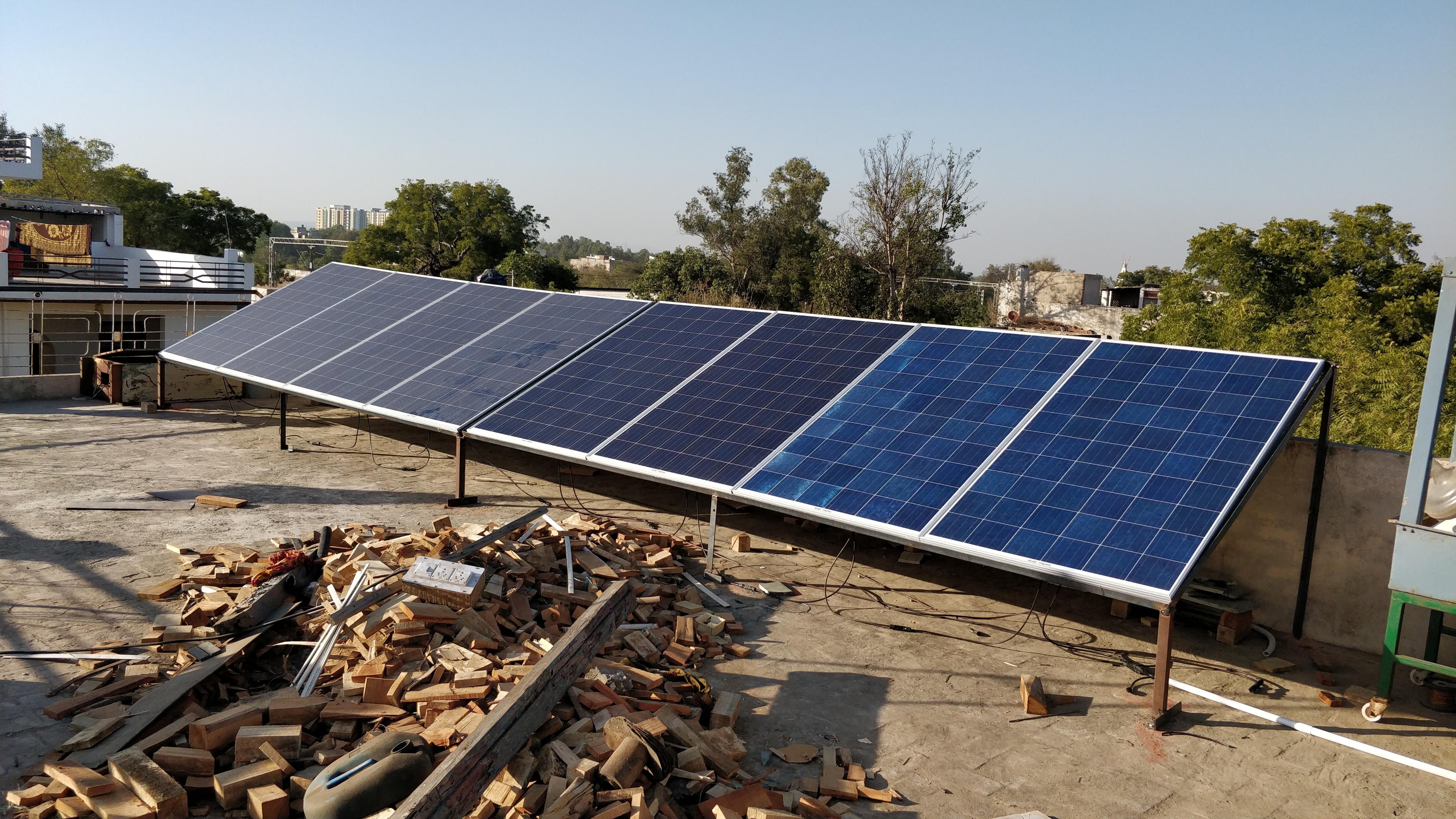 Hybrid Solar Power Plant