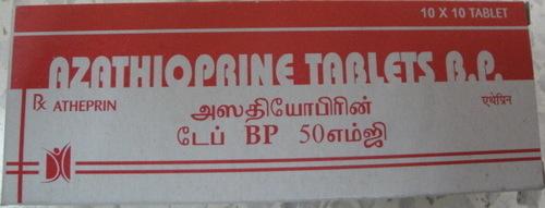 Atheprin Tablets (Azathioprine Tablets IP 50 mg)