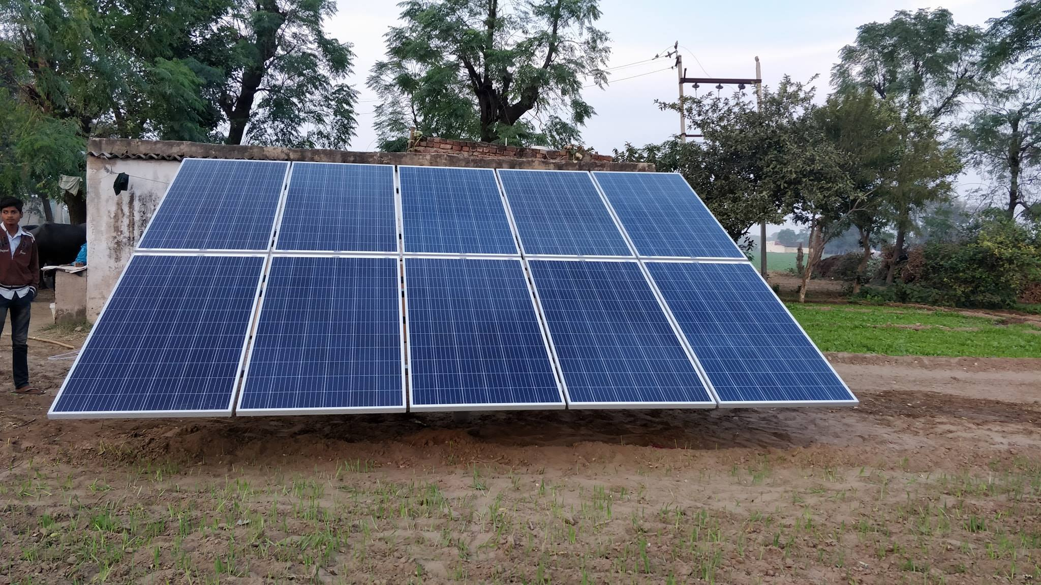 Solar Water Pumping System (For Irrigation)