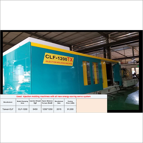 Second Hand Injection Molding Machine With All New Energy Saving Servo System