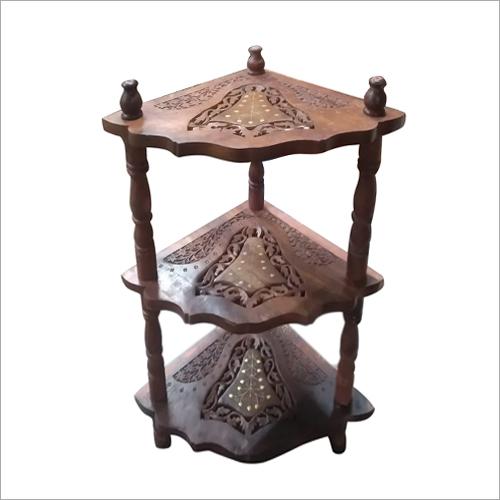 Wooden Shelf Showcase
