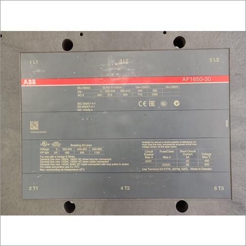 1600 AMP ABB Contactor