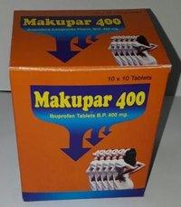 Makupar -400 (Ibuprofen Tablets BP)