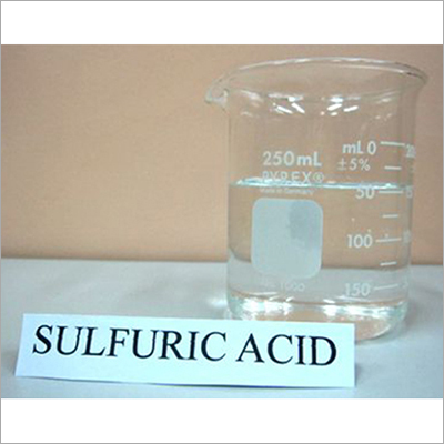Liquid Sulfuric Acid