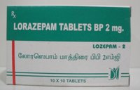 Lozepam -2 (Lorazepam Tablets Bp)