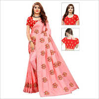 Bandhani Printed Work Saree