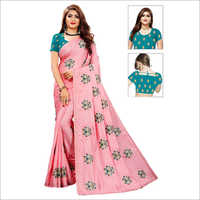 Ladies Bandhani Ethnic Saree