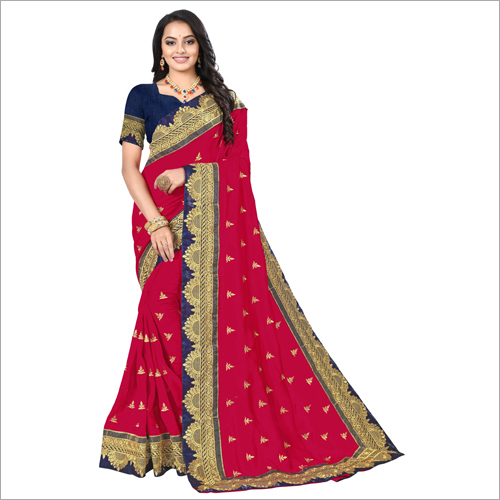 Ladies Ethnic Reception Saree