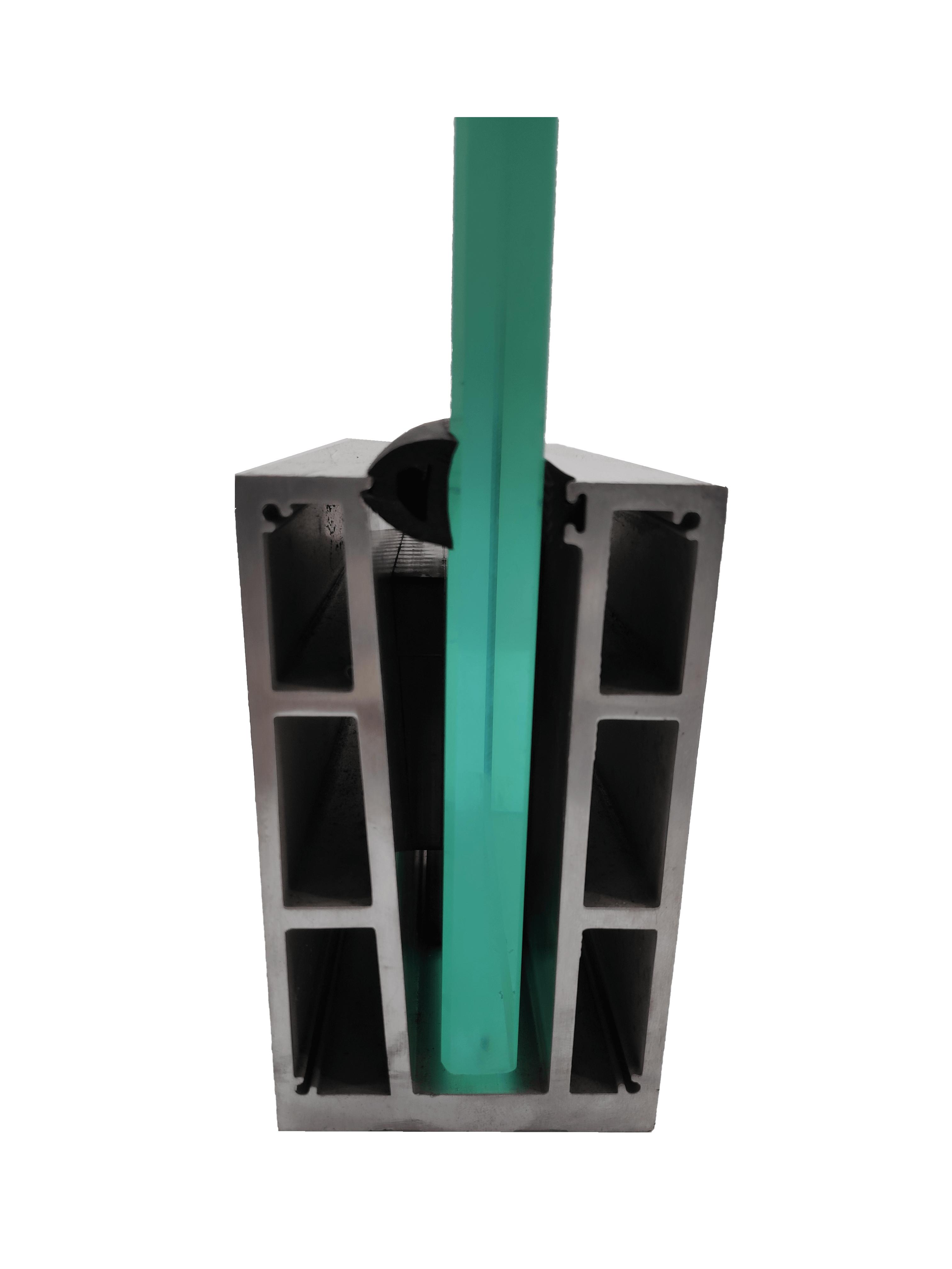 75x125mm Aluminium channel