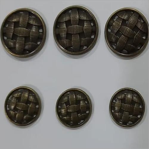 Suit Metal Button
