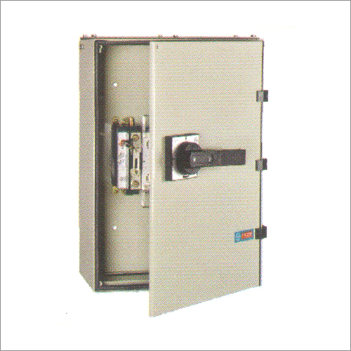 L And T Switchgears Box