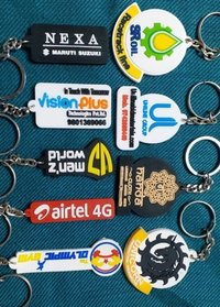 Silicone Rubber Promotional Key chains