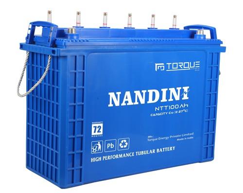 NANDINI NTT 100Ah Tall Tubular Battery