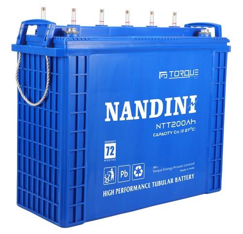 NANDINI 200Ah Tall Tubular Battery