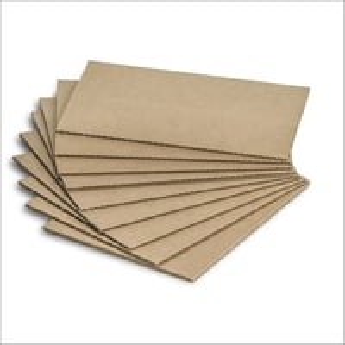 Brown Corrugated Cardboard Sheets