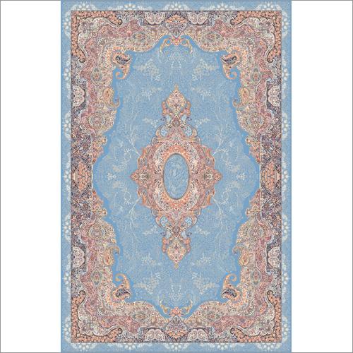 Blue Silk Carpet