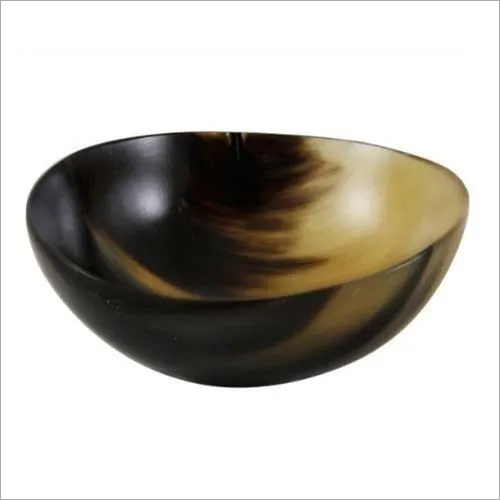 Buffalo Horn Simple Serving Bowl