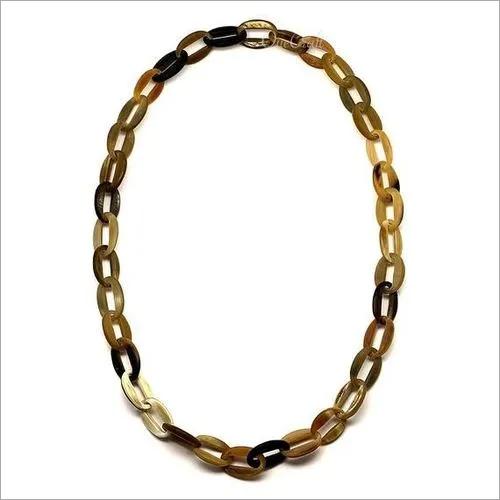 Buffalo Horn Chain Necklace