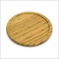 Wooden Rounded Chopping Board