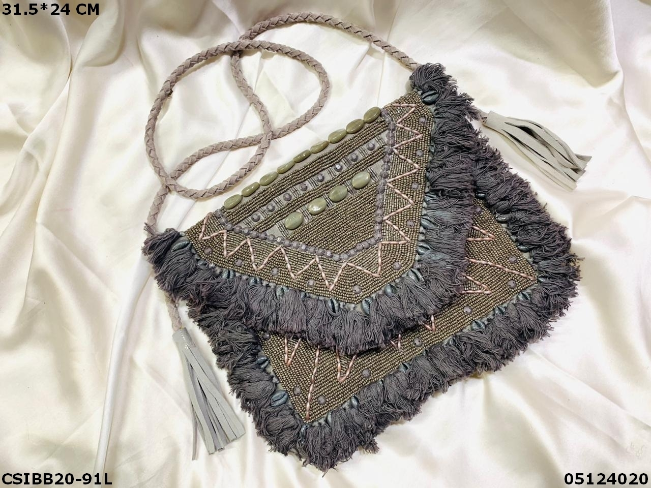 Exclusive Designer Banjara Boho Beaded Bag