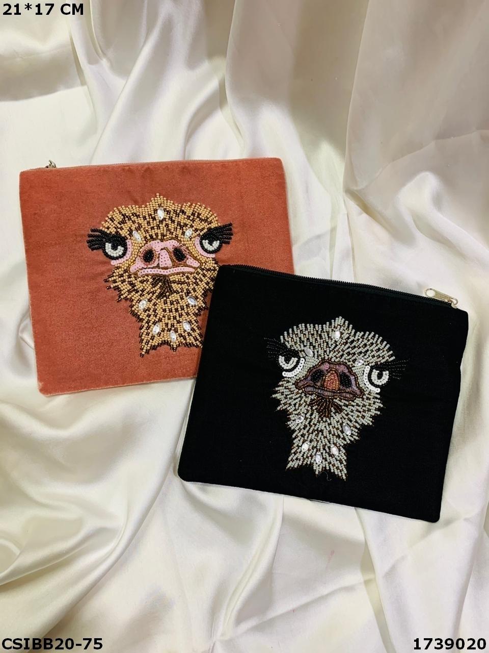 Designer Banjara Boho Beaded Pouch