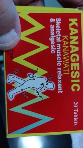 Kanagesic / Paracetamol And Orphenadrine Citrate Tablets