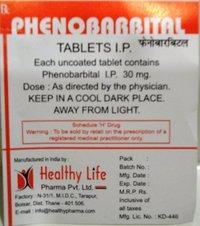 Phenobarbital Tablets (BP-30 mg / BP-60 mg And BP 100 mg)