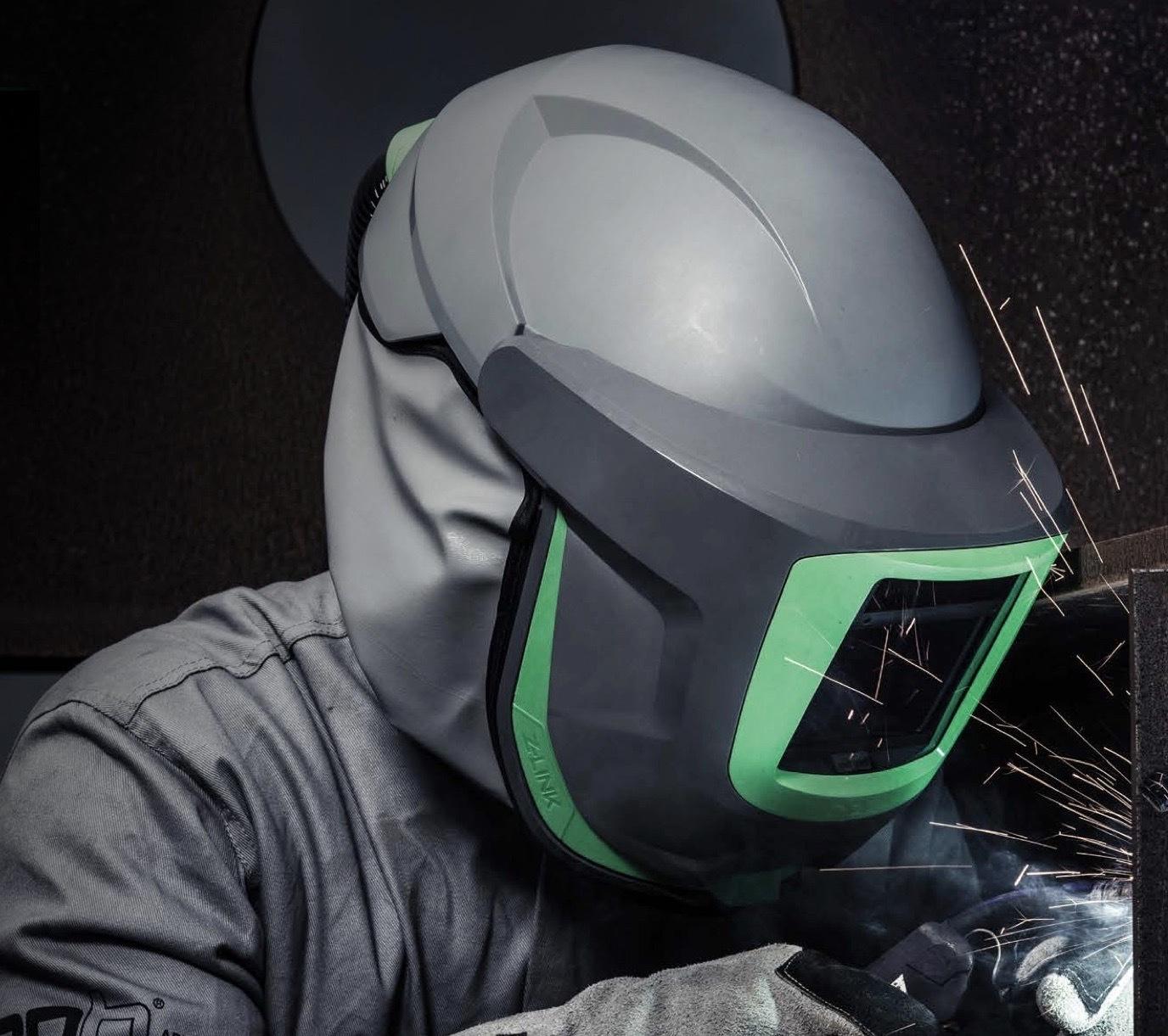 Z-link+ Welding Helmet Respirator Papr