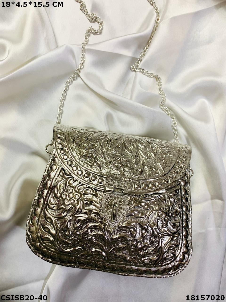 Bridal Brass Clutches