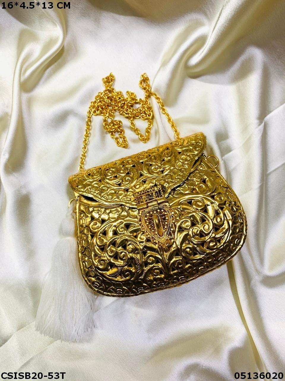 Designer Brass Clutches