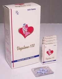 Vegatone -100 C (Sildenafil Citrate Chewable Tablets 100 Mg)