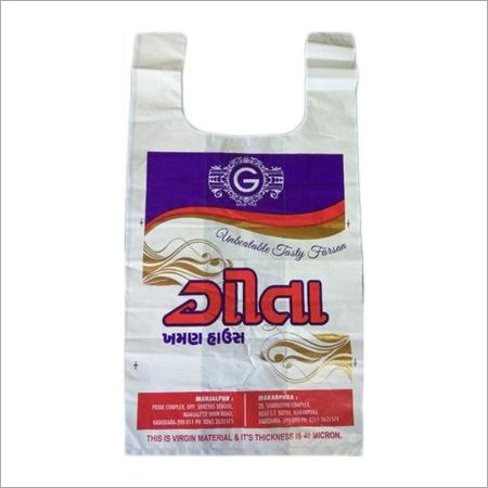 Printed HDPE Carry Bag