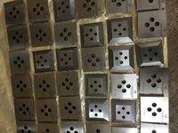 Agglomerator allloy blades
