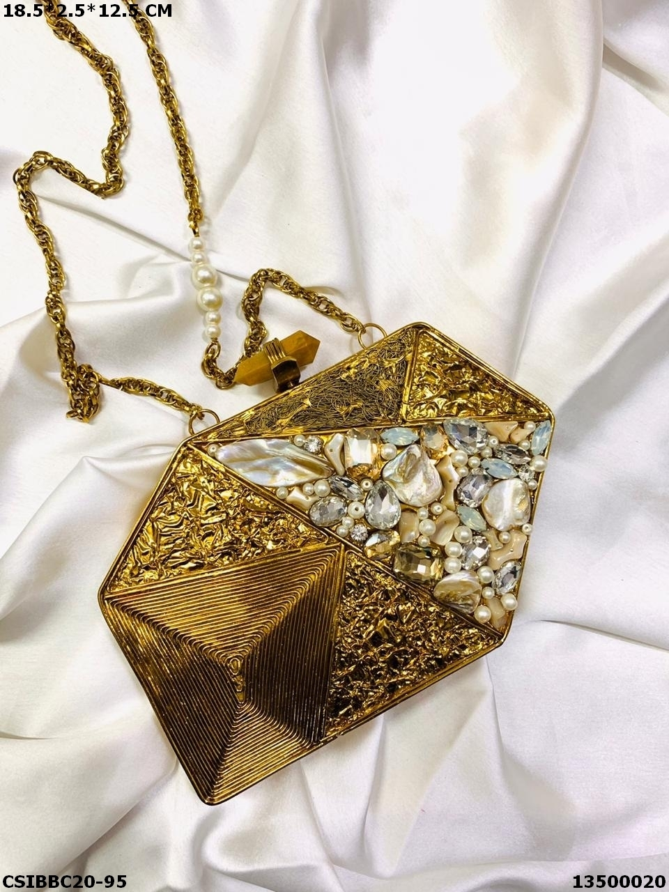 Designer Brass Mop Clutches