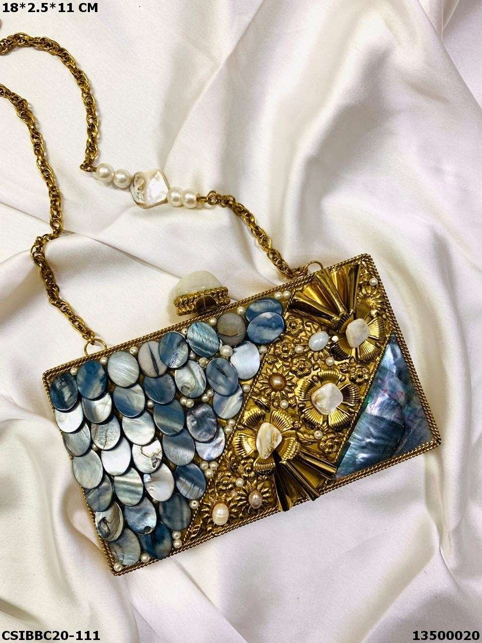 Traditional Brass Mop Clutches