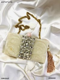 Exclusive Bridal Resin Cluctches