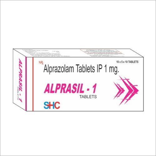 1 MG Alprazolam Tablets IP