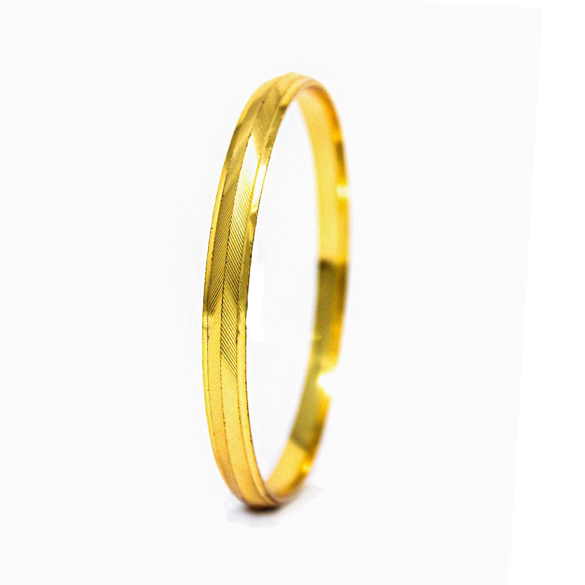 Gold Plated Mens Kada