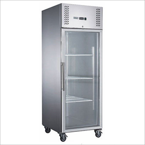 Full Glass Door Upright Fridge
