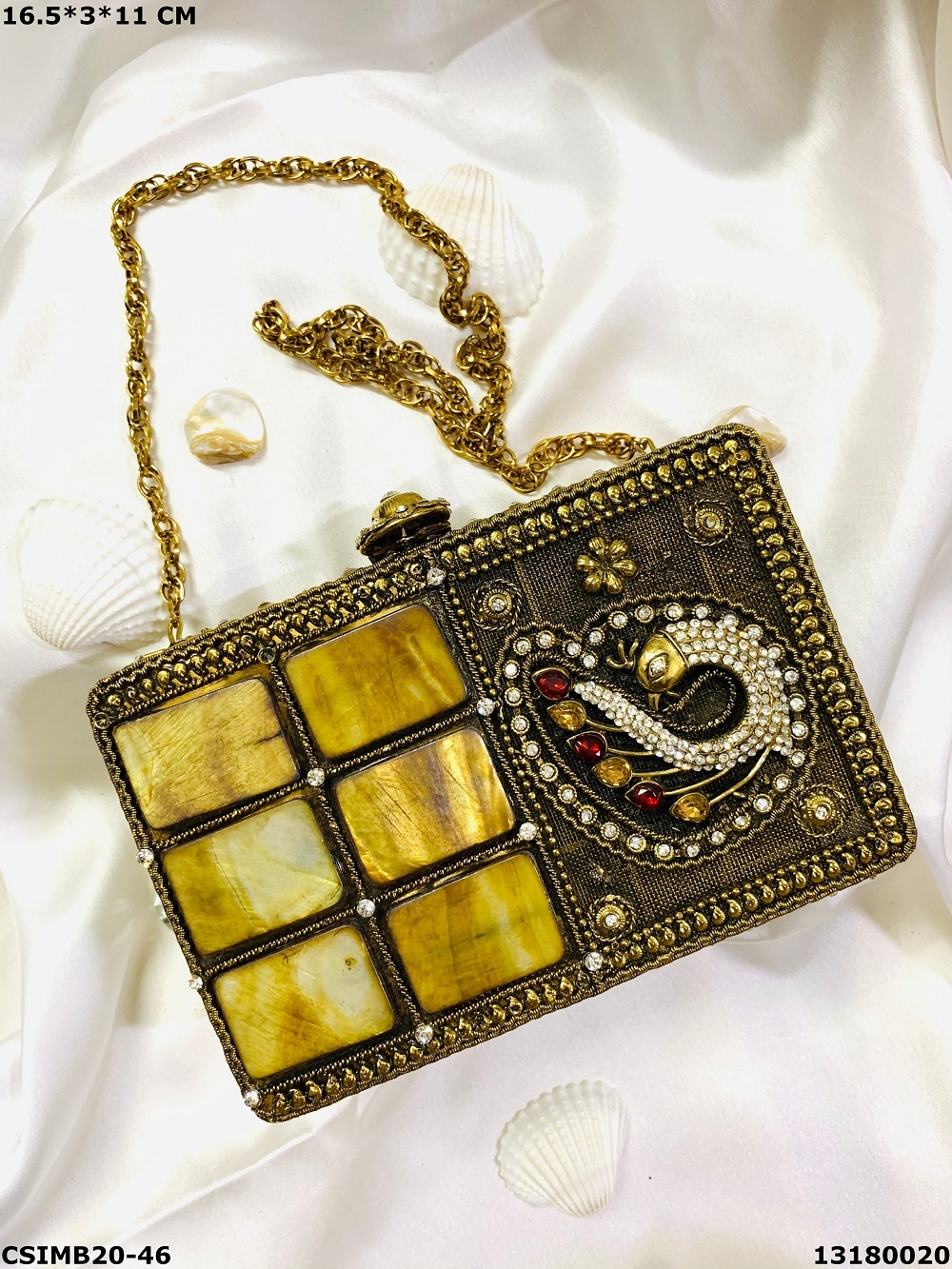 Traditional Metal Clutches