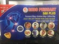 Robo Force 580 / Paracetamol, Diclo Sodium And Caffein Tablets