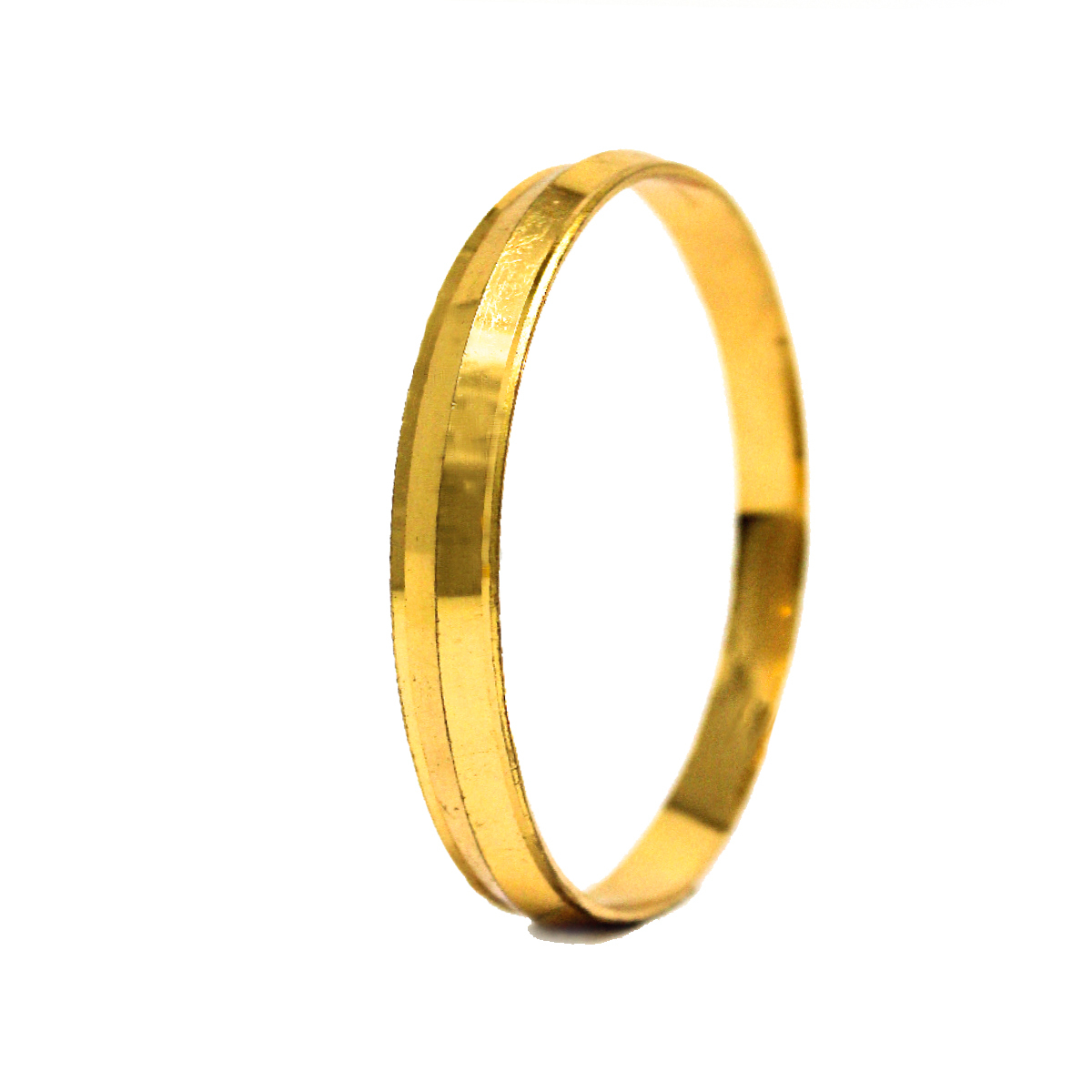 Gold Plated Mens Kada