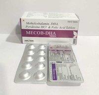 Methylcobalamin Dha Hcl Folic Acid Tab Available In Pcd Pharma Franchise