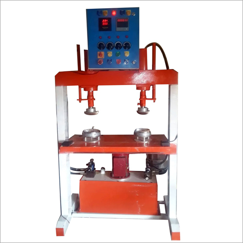 Double Die Paper Bowl Making Machine