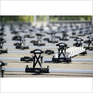 Ballasted Solar Module Mounting Structure