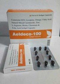 COENZYME Q10 100MG + LYCOPENE 10% 5000MCG , OMEGA 3 FATTY ACID