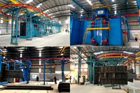 Monorail Shot Blasting Equipment